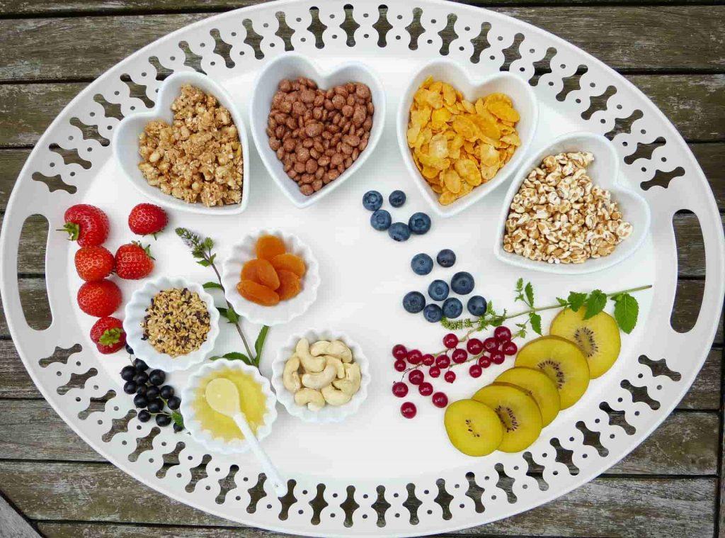 Health diet breakfast